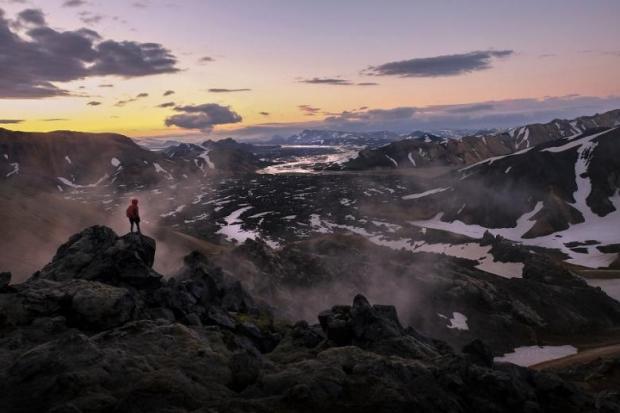 13. Landmannalaugar, İzlanda