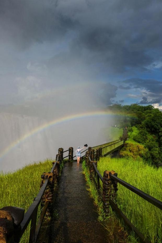 37. Victoria Falls, Zambiya