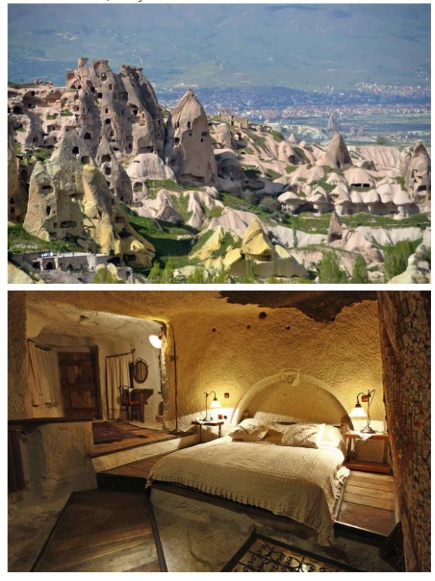 4. Peri bacaları oteli, Türkiye