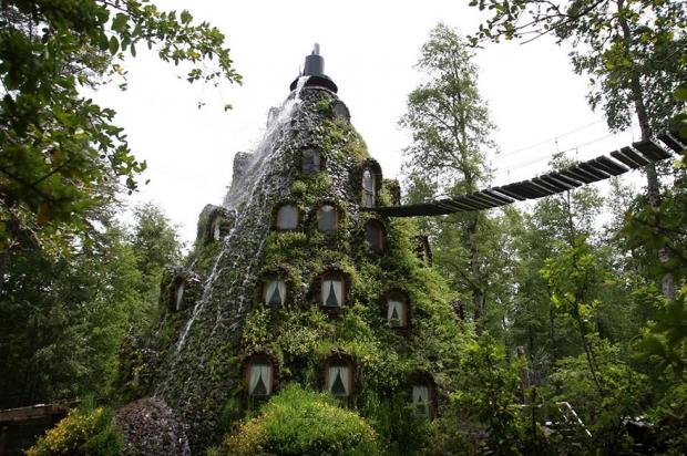 9. Montana Magica Lodge, Şili
