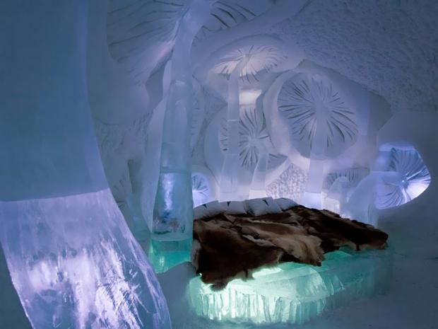 10. Ice Hotel In Jukkasjarvi, İsveç