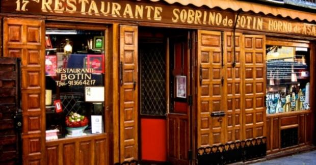 1725'te kurulan Sobrino de Botin günümüzde hala işletiliyor ve hizmet veriyor.