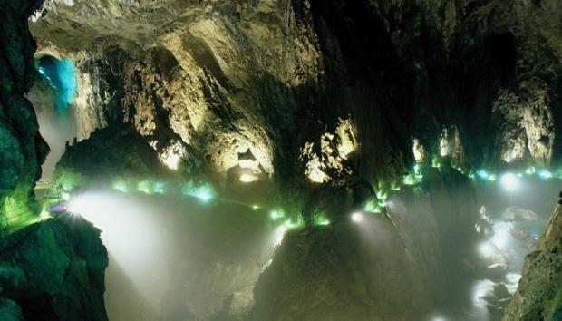 2. Skocjan Mağaraları – Slovenya
