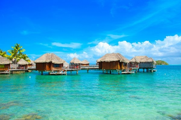 3. Fransız Polinezyası, Bora Bora
