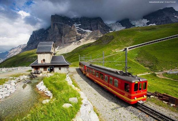 Jungfraujoch Demiryolu