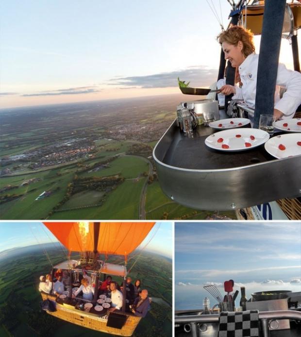 Air Balloon Restaurant, Culiair, Hollanda