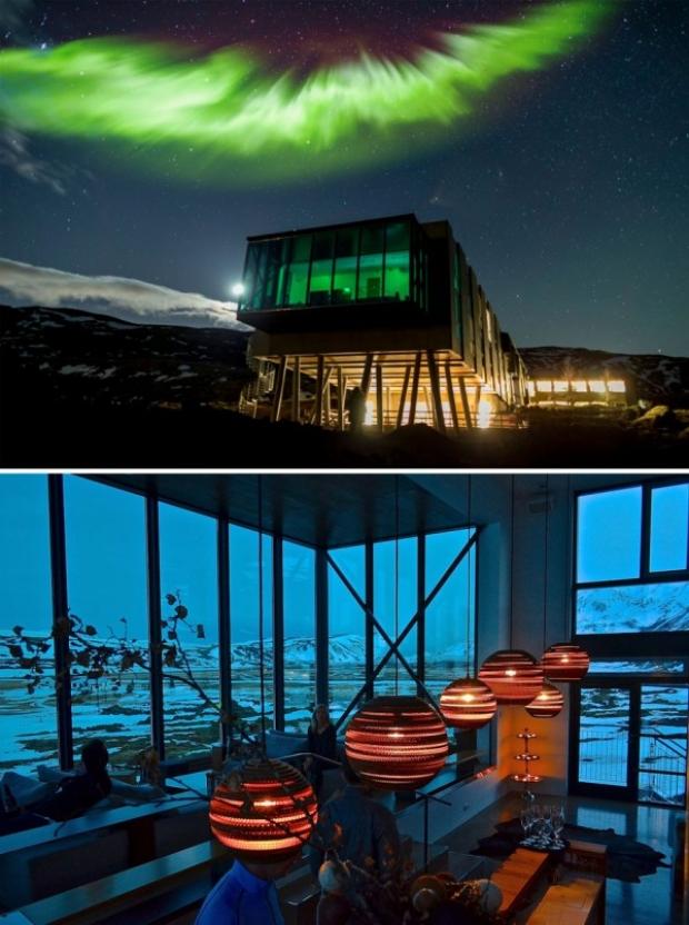 Northern Lights Bar, Ion Hotel, İzlanda