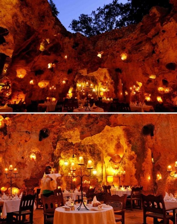 Ali Barbour's Cave Restaurant, Kenya