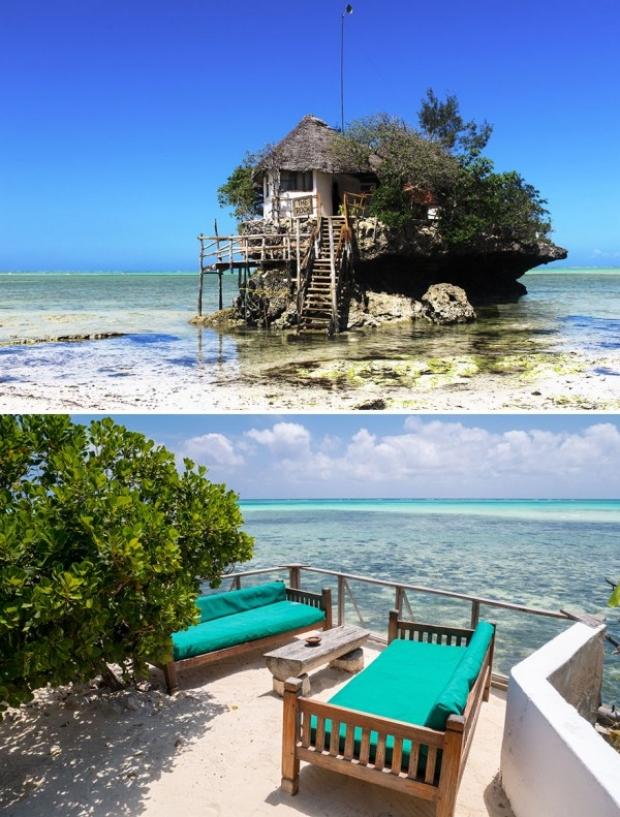 The Rock, Michamvi Pingue, Zanzibar