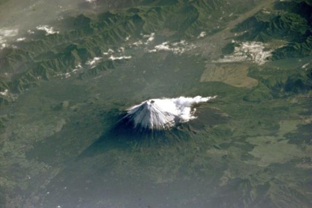 Fuji Dağı (Japonya'nın en yüksek dağı)