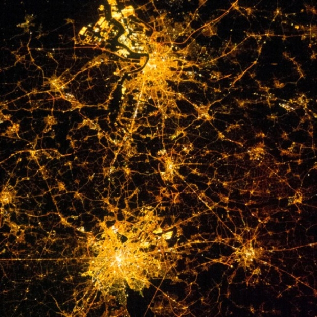 Brüksel ve Antwerp'te bir gece (Belçika)