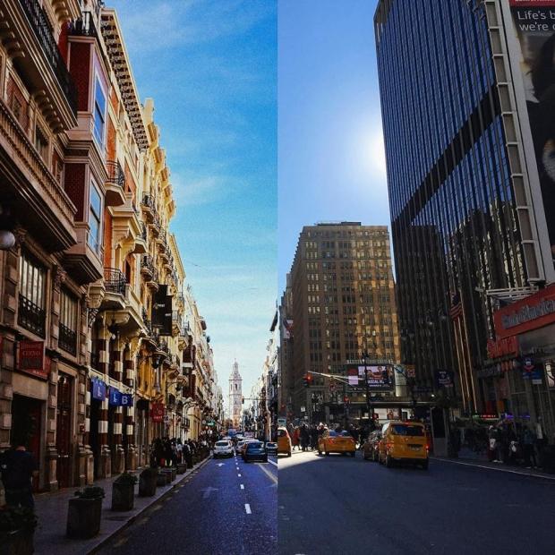 9. Valensiya, İspanya + New York