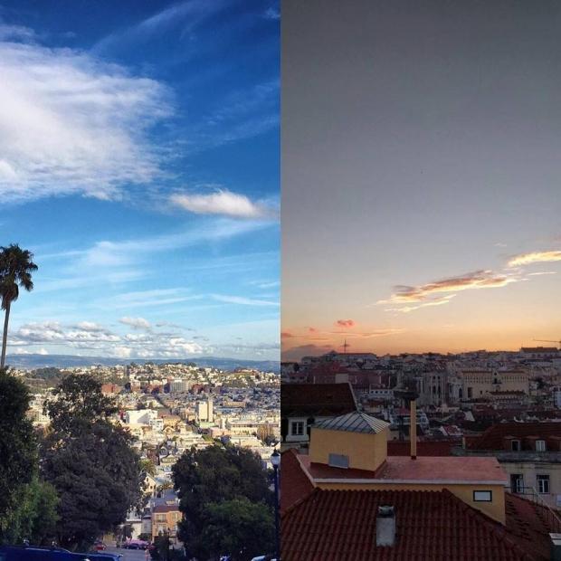 10. San Francisco, Kaliforniya, ABD + Lizbon, Portekiz