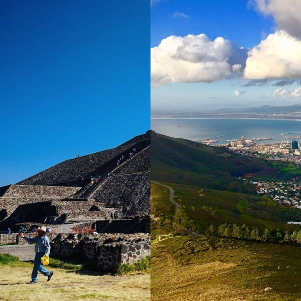 11. Teotihuacan, Meksika + Cape Town, Güney Afrika