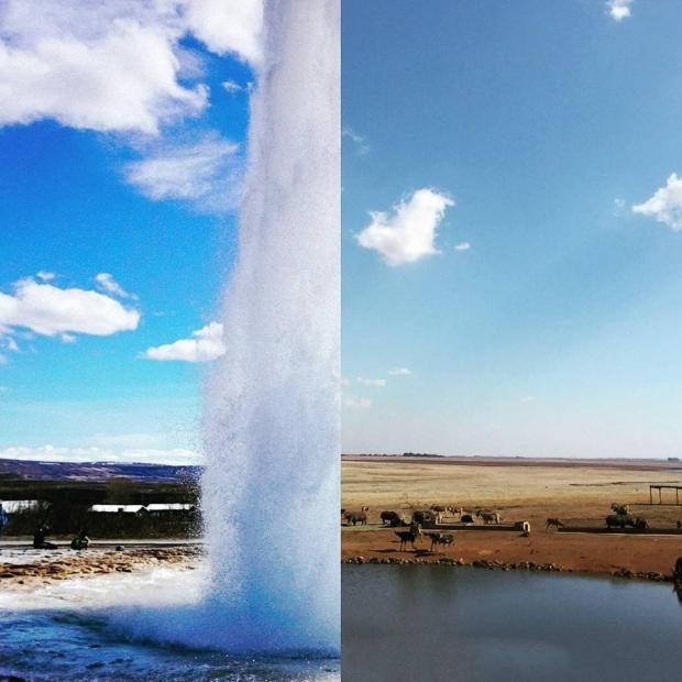 16. İzlanda + Güney Afrika