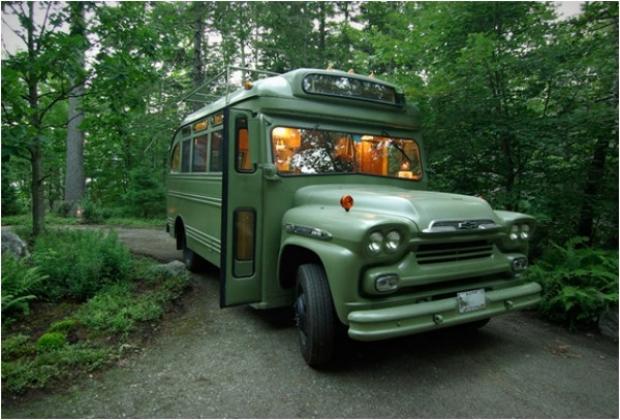 İşte bu harika kamp aracının detaylı fotoğrafları...