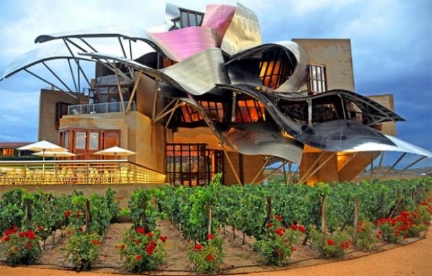 İşte Kanadalı yetenekli mimar Frank Gehry'nin müthiş eserinden muhteşem fotoğraflar...