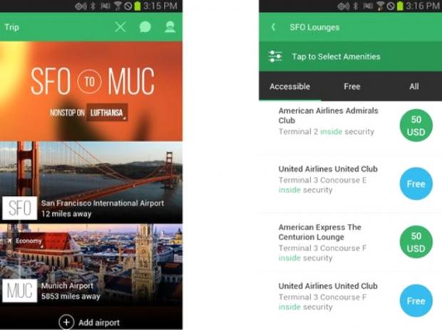 LoungeBuddy (Android,iOS: Ücretsiz)