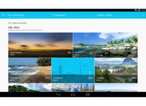 Skyscanner (Android, iOS: Ücretsiz)
