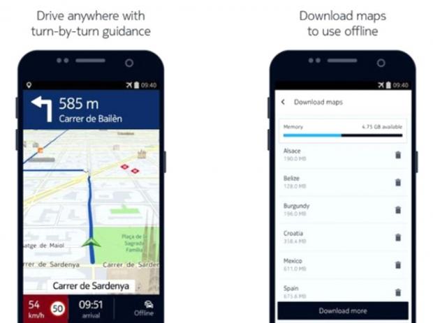 Here WeGo (Android, iOS: Ücretsiz)
