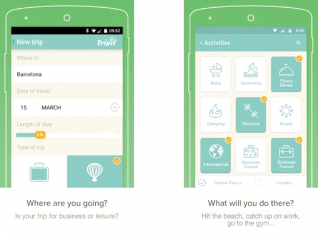 PackPoint (Android, iOS: Ücretsiz)