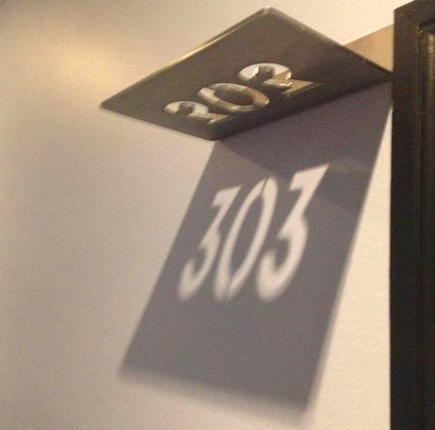 Gölgeden oda numaraları