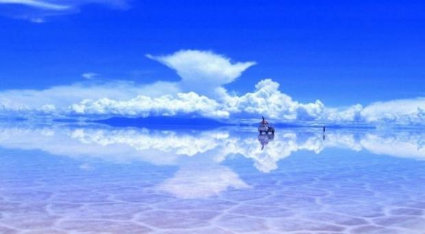 9. Bolivya- Salar de Uyuni Gölü