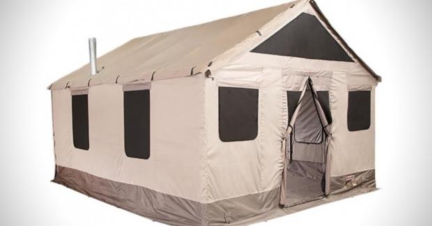 Bir karavan ya da bungalov türü bir yerleşim biriminiz yoksa, kamplarda çadırlarınızla baş başasınızdır.