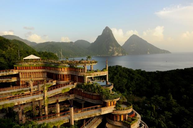 3 – Jade Mountain, Saint Lucia