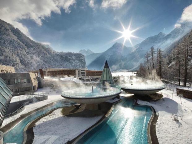 7 – Aqua Dome, Avusturya