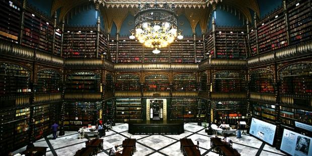 3. Kraliyet Portekiz Okuma Salonu / Brezilya