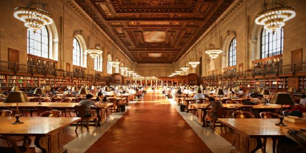 4. New York Halk Kütüphanesi / ABD