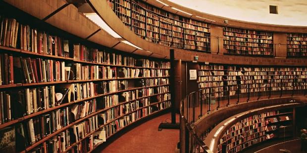 6. Stockholm Halk Kütüphanesi / İsveç