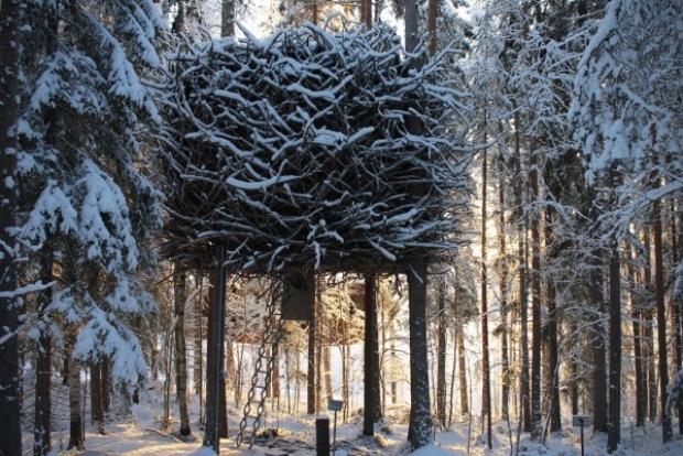 Bird's Nest Cabin adlı bu şık oteli beğendiniz mi?