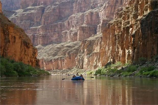 20. Büyük Kanyon'da rafting yapın (ABD)
