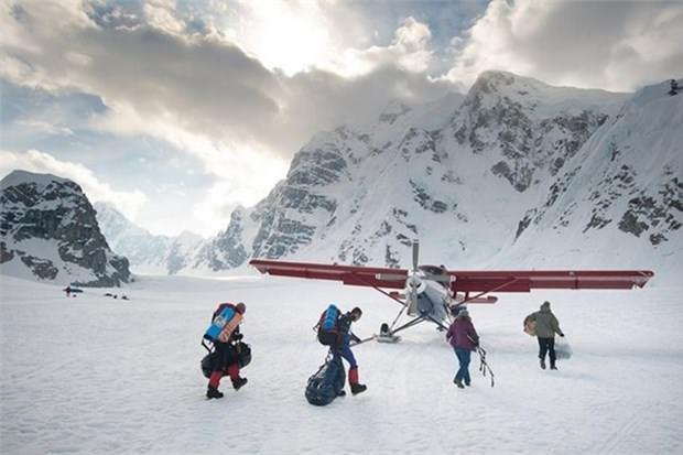 28. Denali Milli Parkı'nda kayak yapın (Alaska)