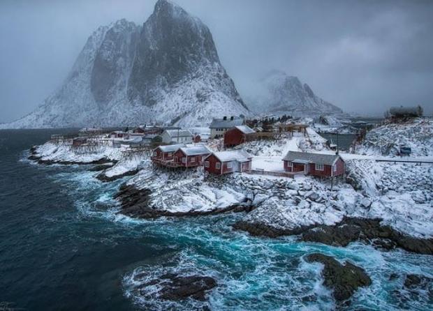 8. Hamnoy, Norveç