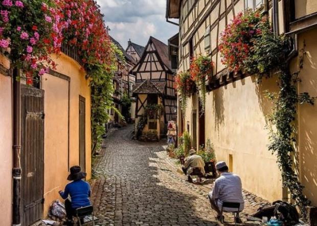 9. Eguisheim, Fransa
