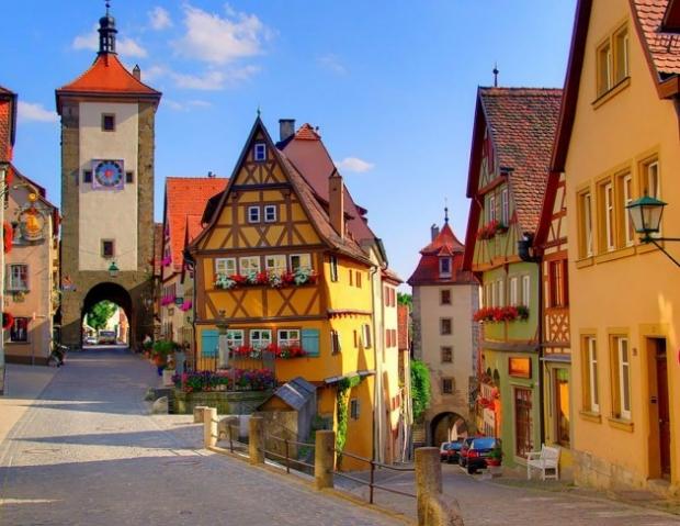 4. Rothenburg, Almanya