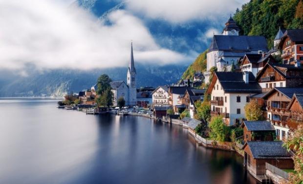 5. Hallstatt, Avusturya