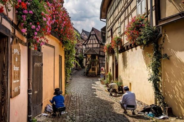 7. Eguisheim, Fransa