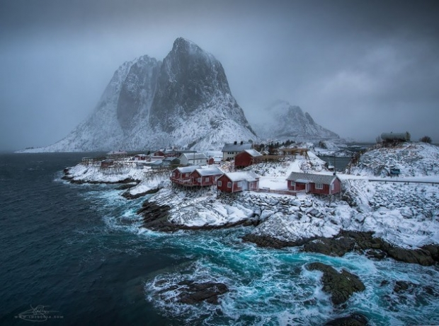 9. Hamnoy, Norveç