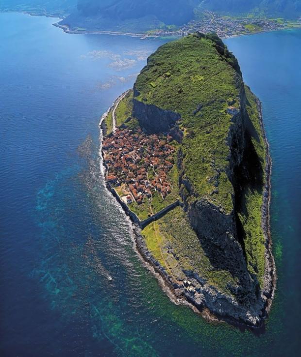 14. Monemvasia, Yunanistan