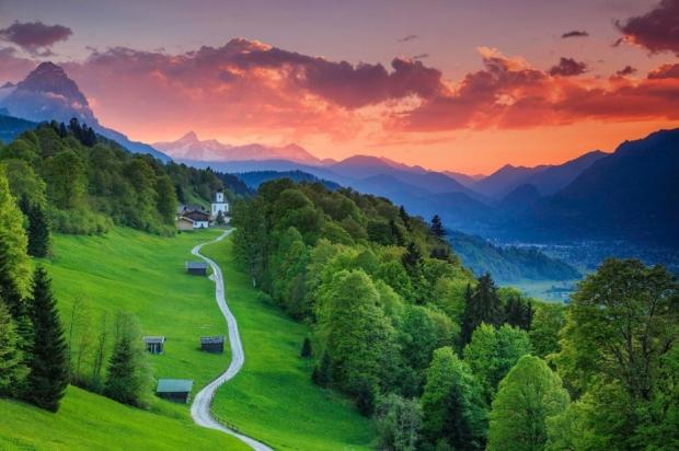 18. Garmisch-Partenkirchen, Bavyera, Almanya