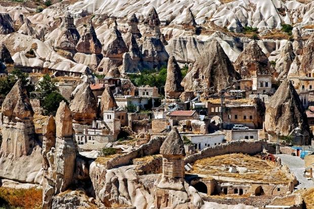 6. Göreme, Turkey (Yeraltı şehri)