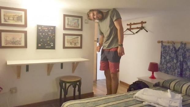5. Sen niye bu kadar uzunsun ki? Bizim odamız gayet ideal!