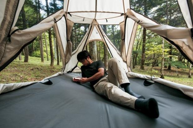 Siz nasıl buldunuz bu salıncak çadırı?