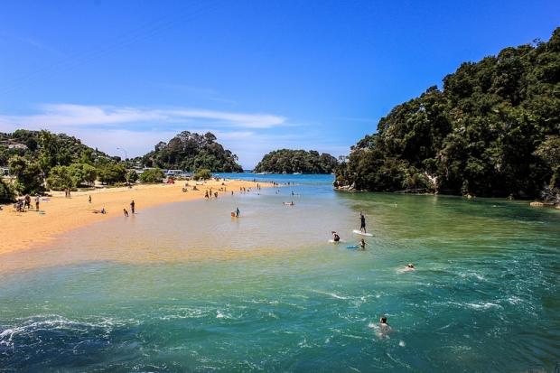 7 – Kaiteriteri, Yeni Zelanda