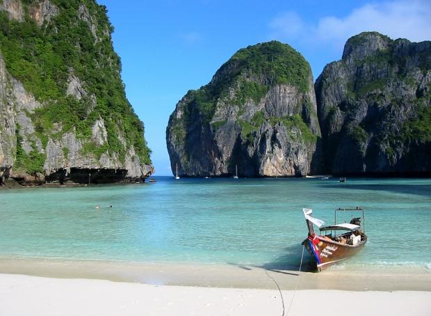 6 – Maya Bay, Tayland