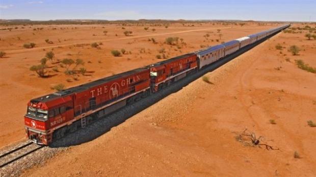3. Avustralya'nın kuzeyinden güneyine kadar gidiyor.